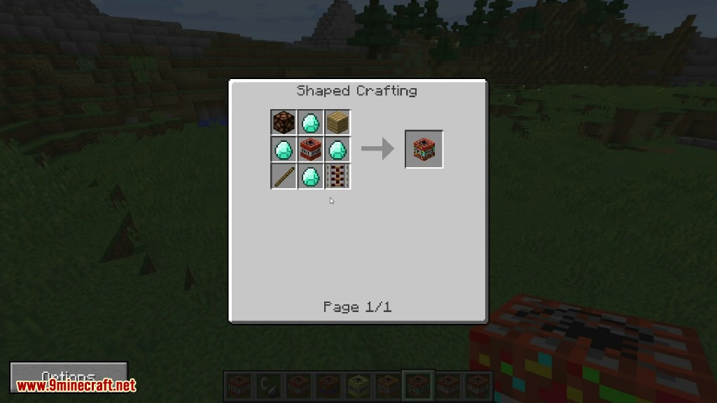 Crazy Bombs Mod Crafting Recipes 1