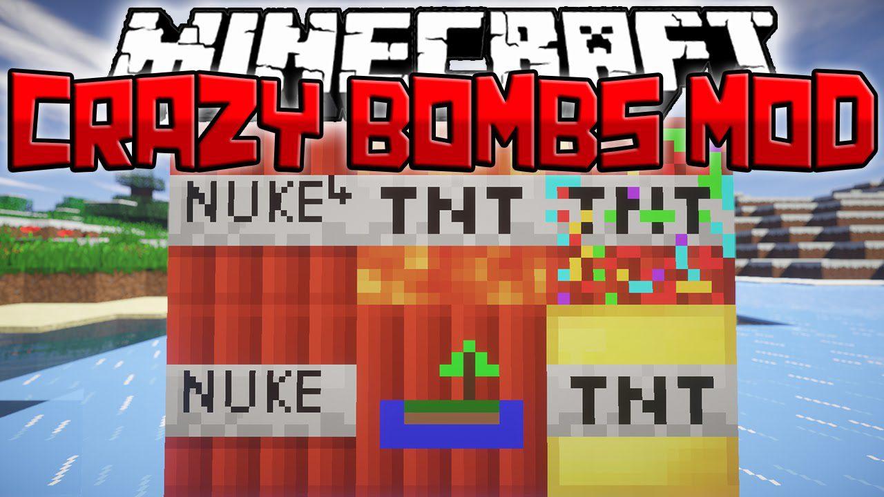 Crazy Bombs Mod Logo