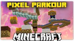 Pixel-Parkour-Map