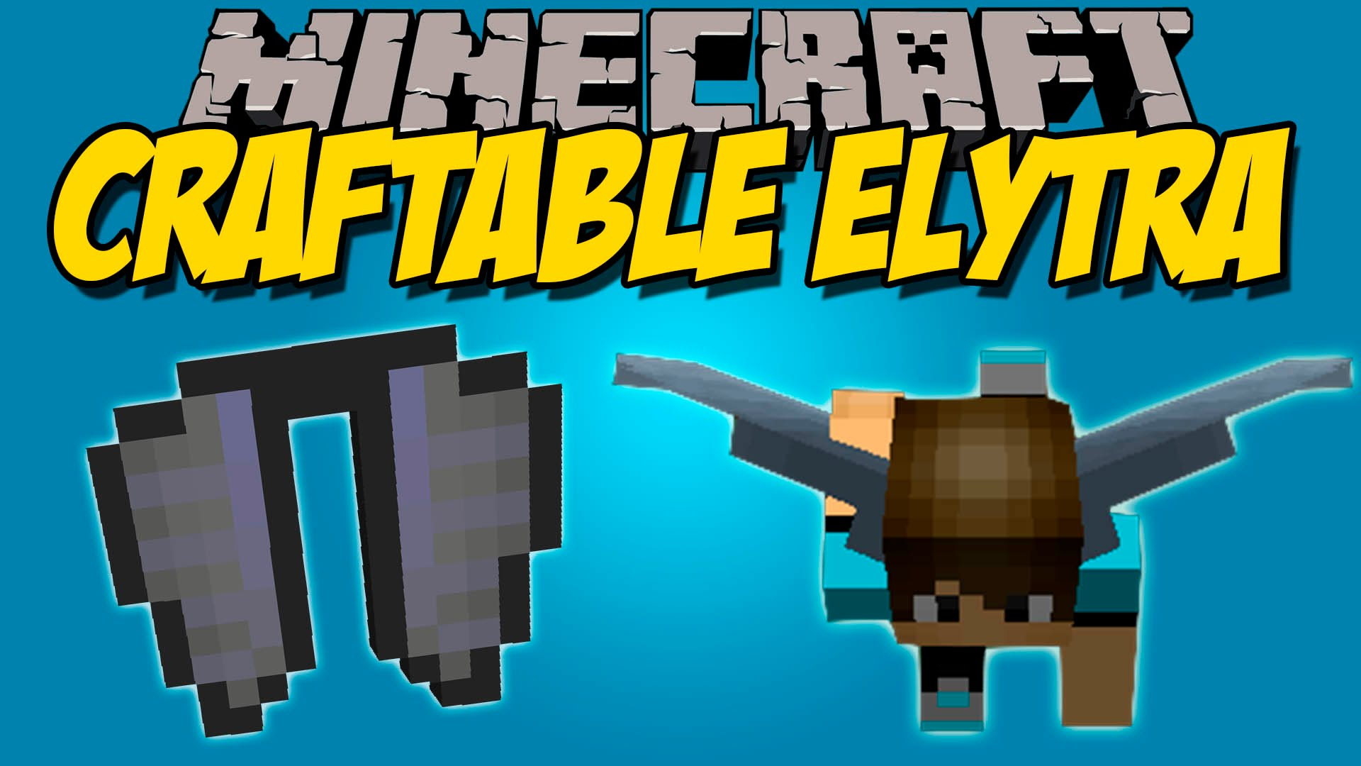 minecraft how to craft elytra
