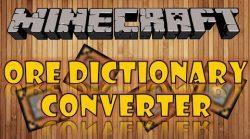 Ore-Dictionary-Converter-Mod
