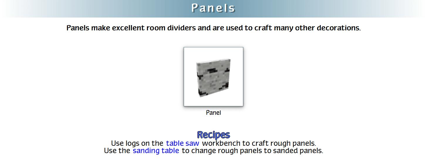 Decoration Mega Pack Mod Crafting Recipes 40