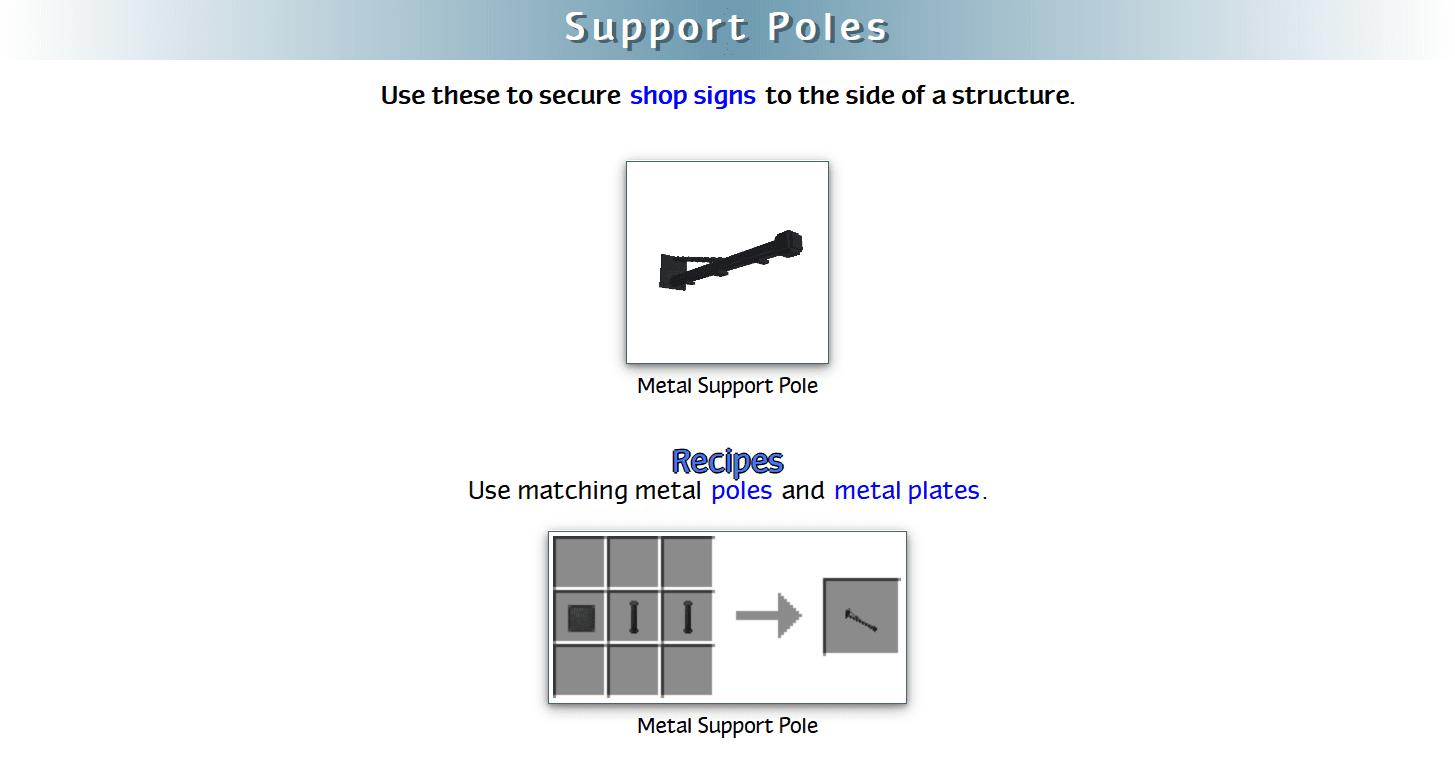 Decoration Mega Pack Mod Crafting Recipes 46