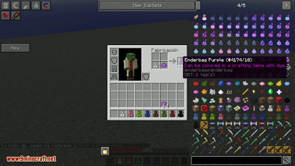 EnderBags Mod Crafting Recipes 2