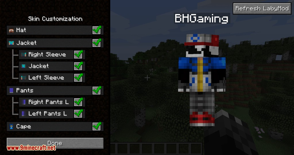 LabyMod for minecraft 10