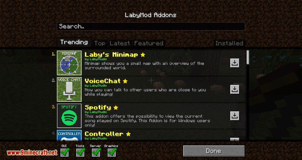 LabyMod for minecraft 14