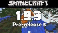 Minecraft-1-9-3-pre-release-3