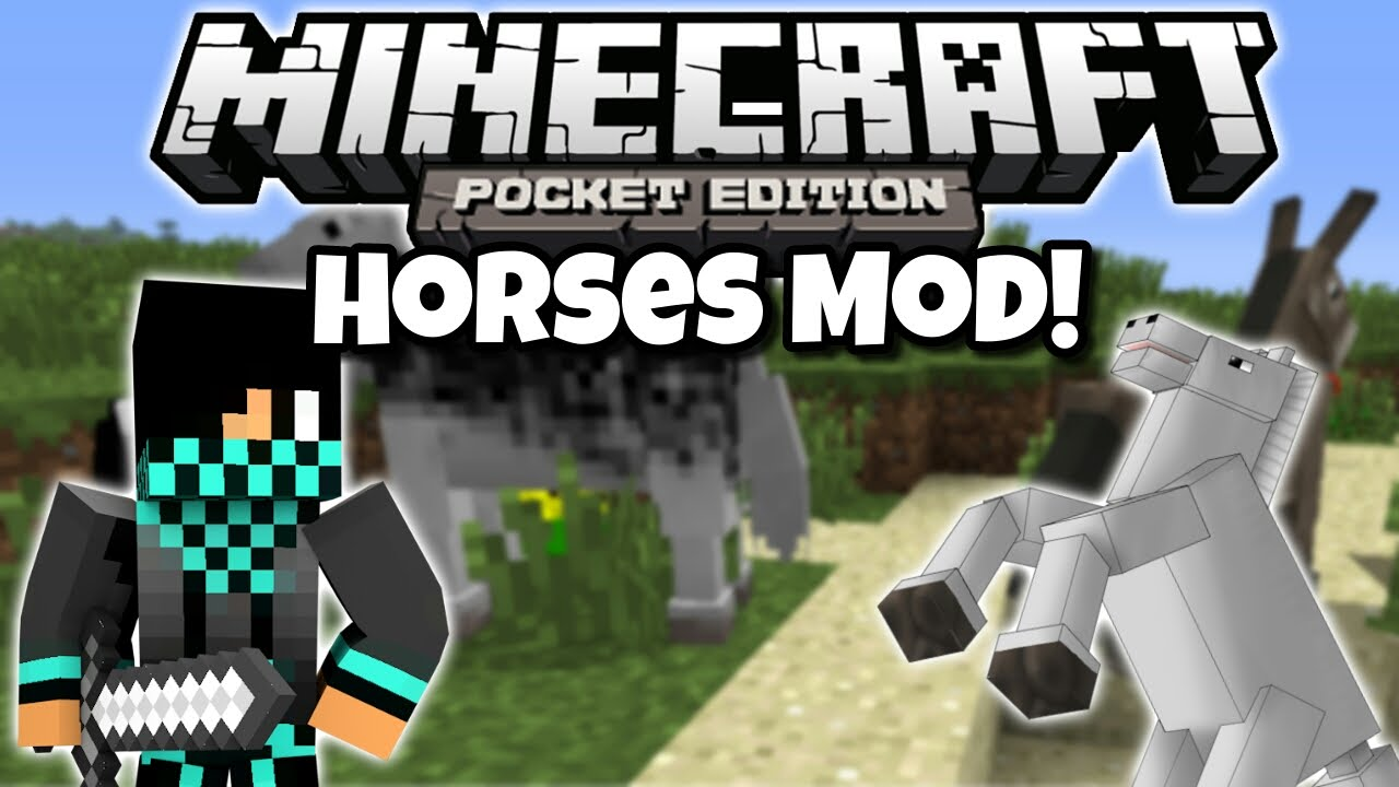 Horses Mod for MCPE - 9Minecraft Net