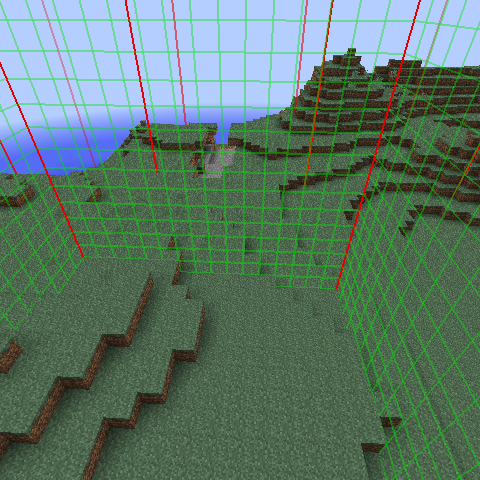 Chunk Edge Indicator Mod Screenshots 1