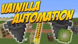 Vanilla Automation Mod