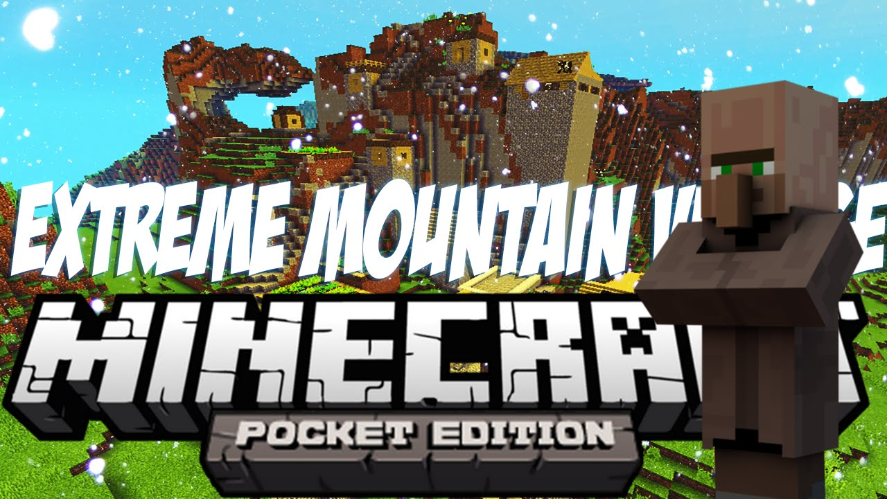 Extreme Mountains Seed for MCPE - 9Minecraft Net