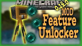 Feature Unlocker Addon for MCPE - 9Minecraft Net