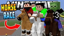 horse-racing-minigame-map-for-mcpe-3