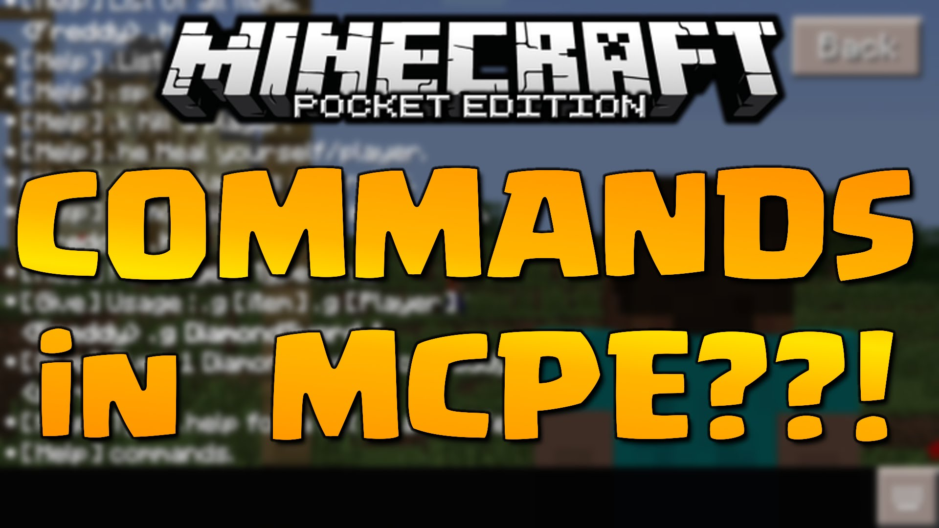 X-Commands Mod for MCPE - 9Minecraft Net