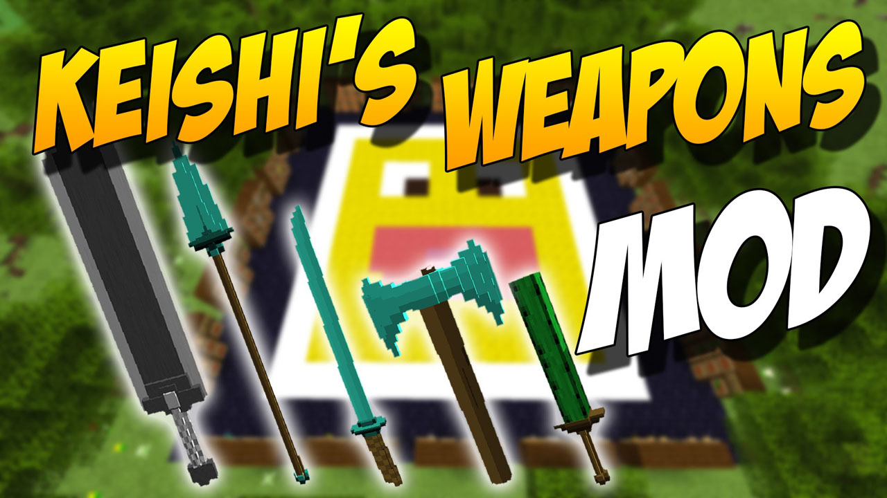 Kaishi's Weapon Pack Mod 1.10.2 Download
