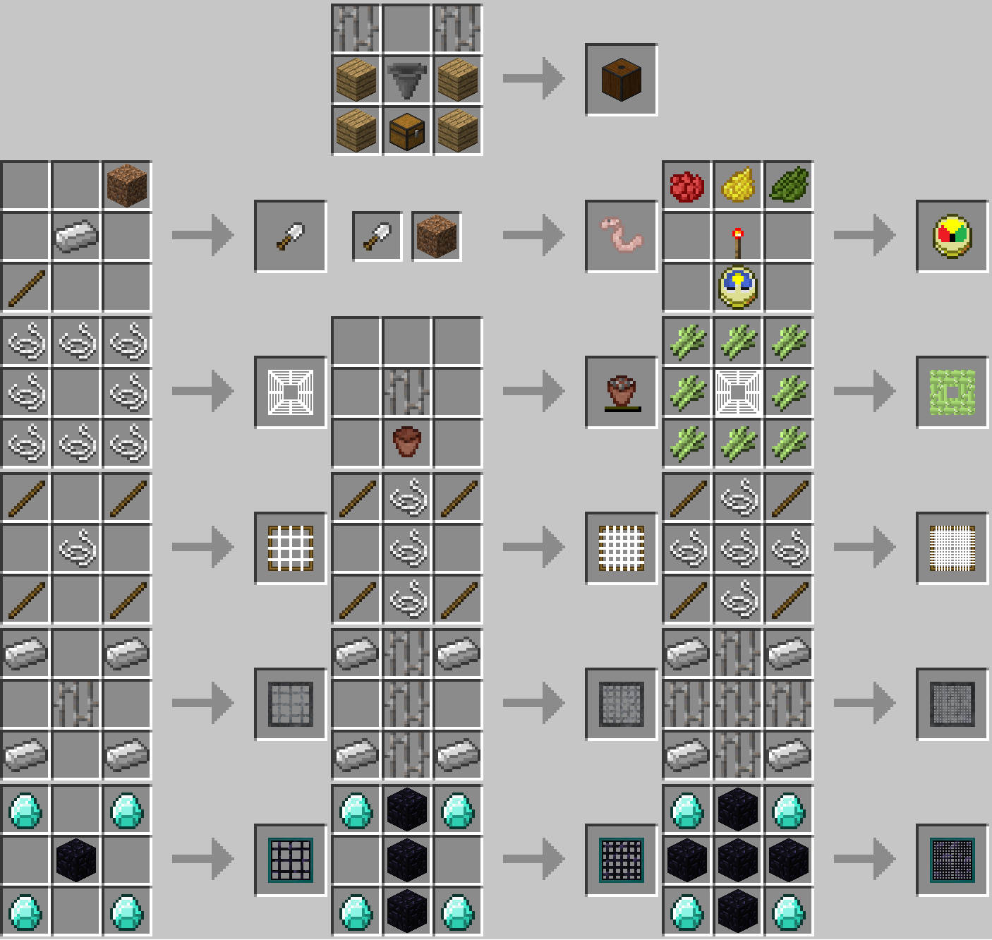 Water Strainer Mod Crafting Recipes 1