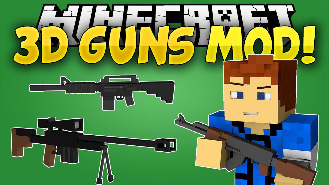 minecraft gun mod 1.7.10