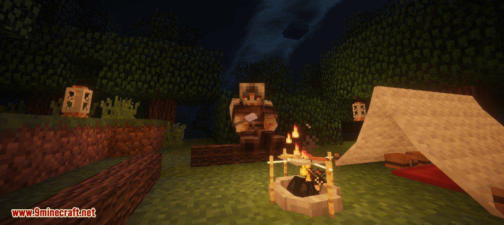 Camping Mod Screenshots 1