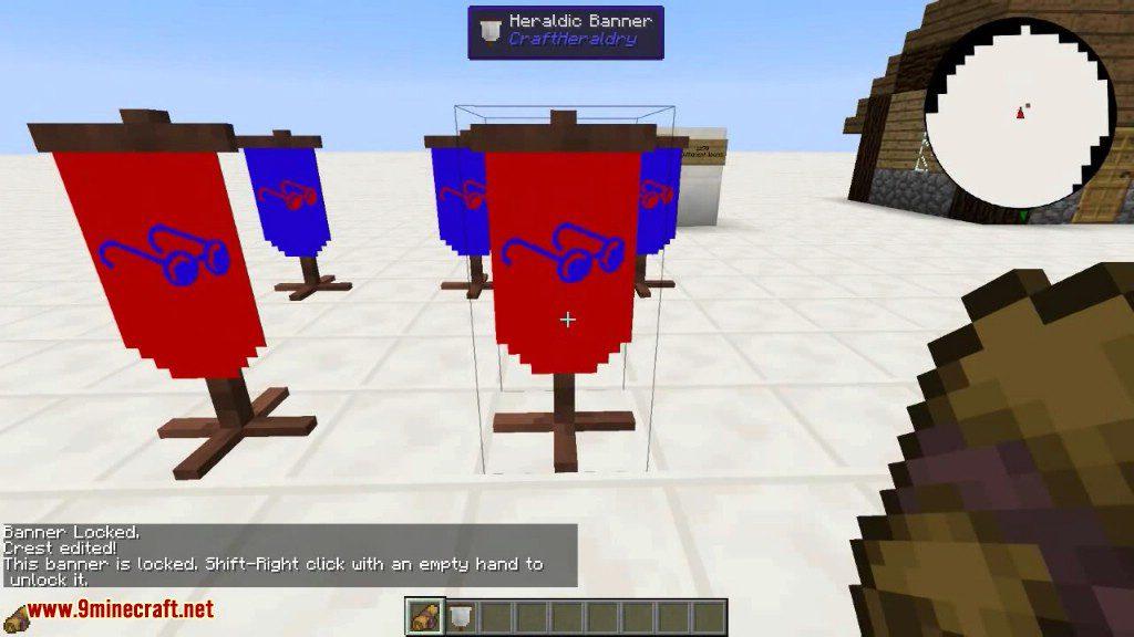 CraftHeraldry Mod Screenshots 15