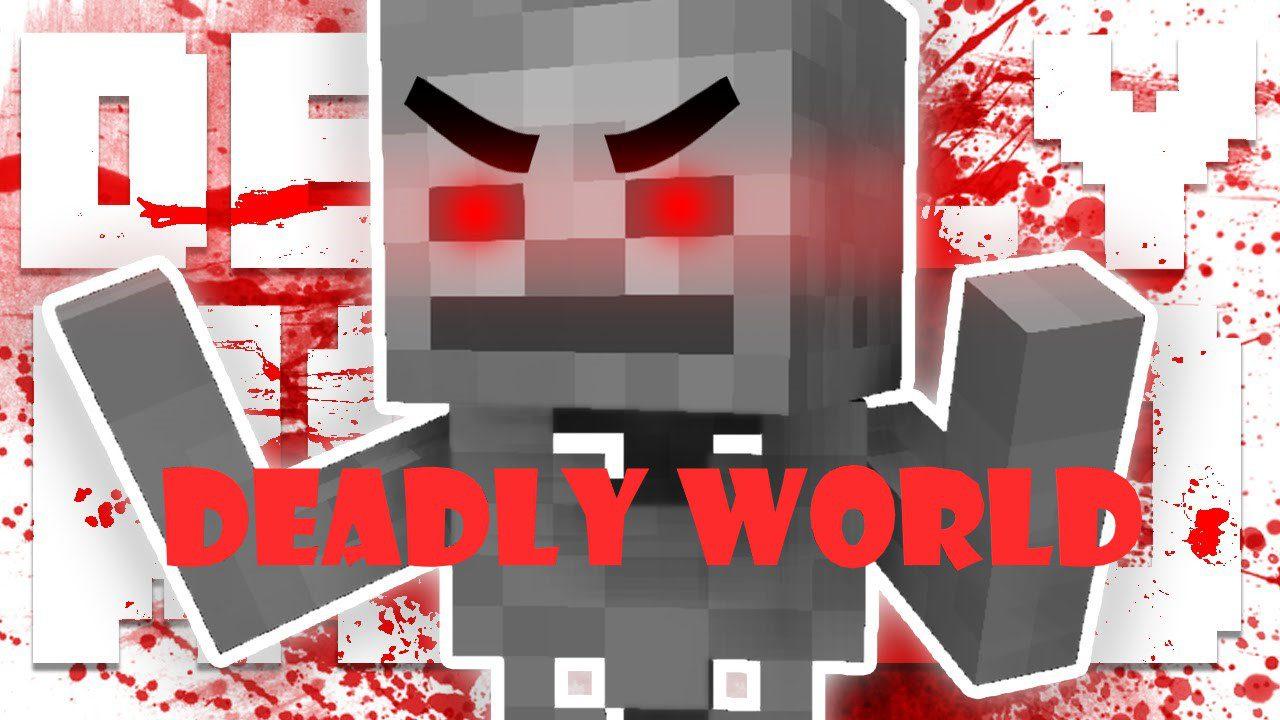 Deadly World mod for minecraft logo