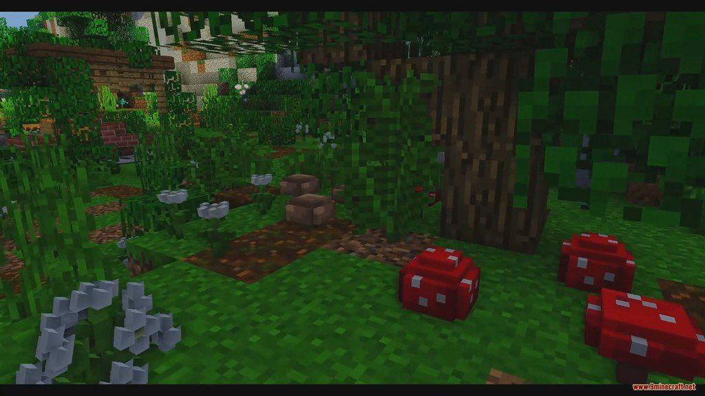 Default 3D Resource Pack Screenshots 1