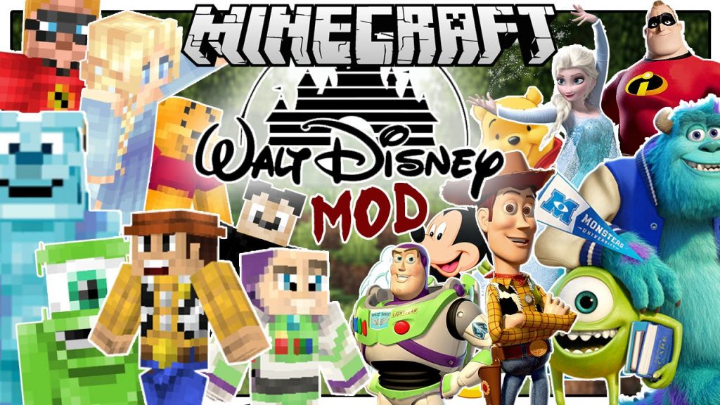Disney Mod 1.8.9/1.7.10