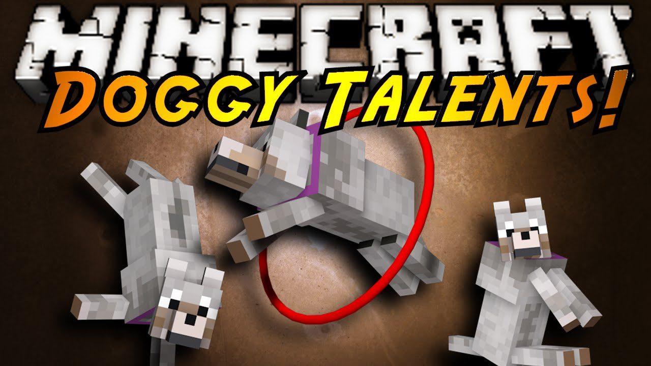 Скачать мод на майнкрафт doggy talents 1. 7. 10.