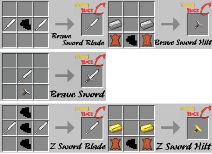 Dragon Block C Mod Crafting Recipes 2