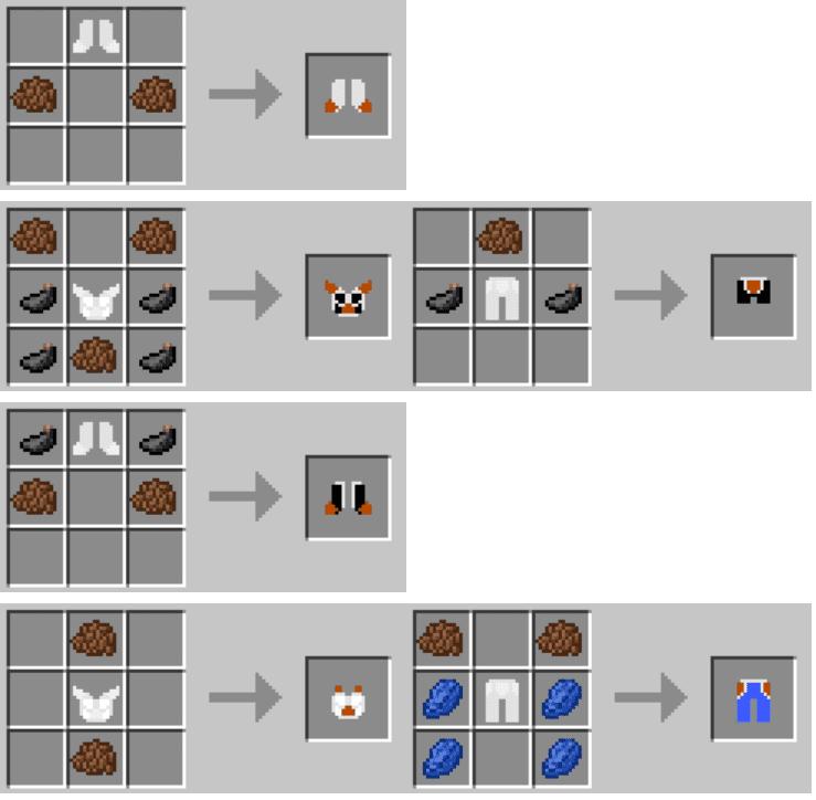 Dragon Block C Mod Crafting Recipes 4