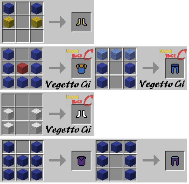 Dragon Block C Mod Crafting Recipes 7