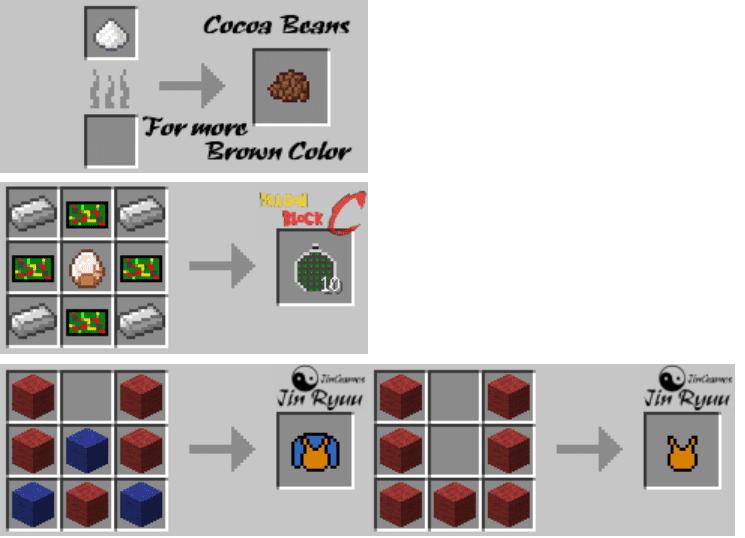 Dragon Block C Mod Crafting Recipes 9