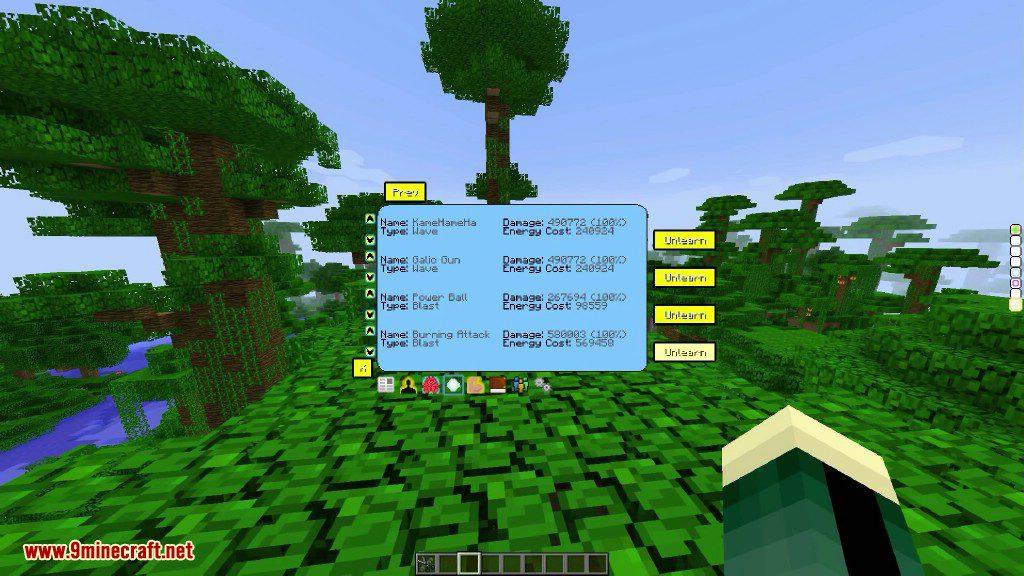 Saiyan Mod DBZ for Minecraft Mod Apk - apkmodfree.com