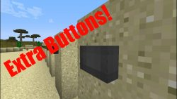 Extra Buttons Mod for Minecraft Logo