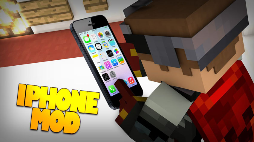 Iphone apps mod 1. 8/1. 7. 10/1. 7. 2 | minecraft mods.
