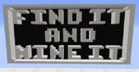 Find It and Mine It Map Logo