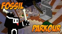 Fossil Parkour Map Logo