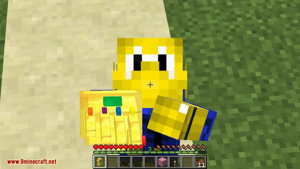 Infinity Gauntlet Mod 1 8 9/1 7 10 (The Strongest Minecraft