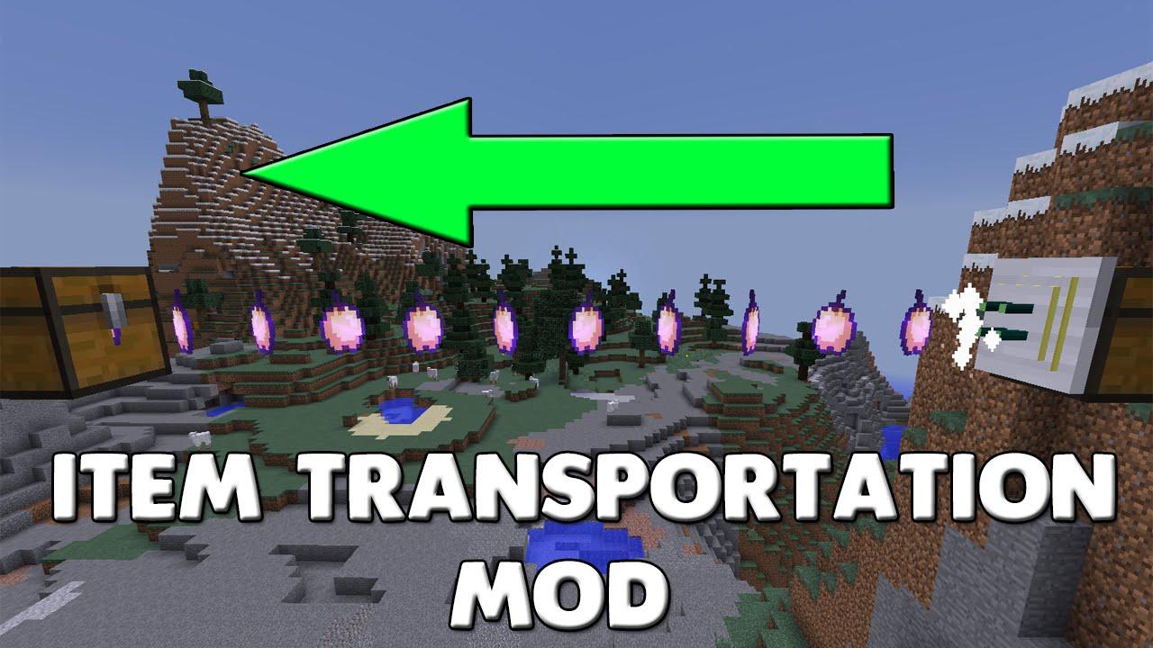 Item Transportation Mod 1.12.2/1.11.2  Download