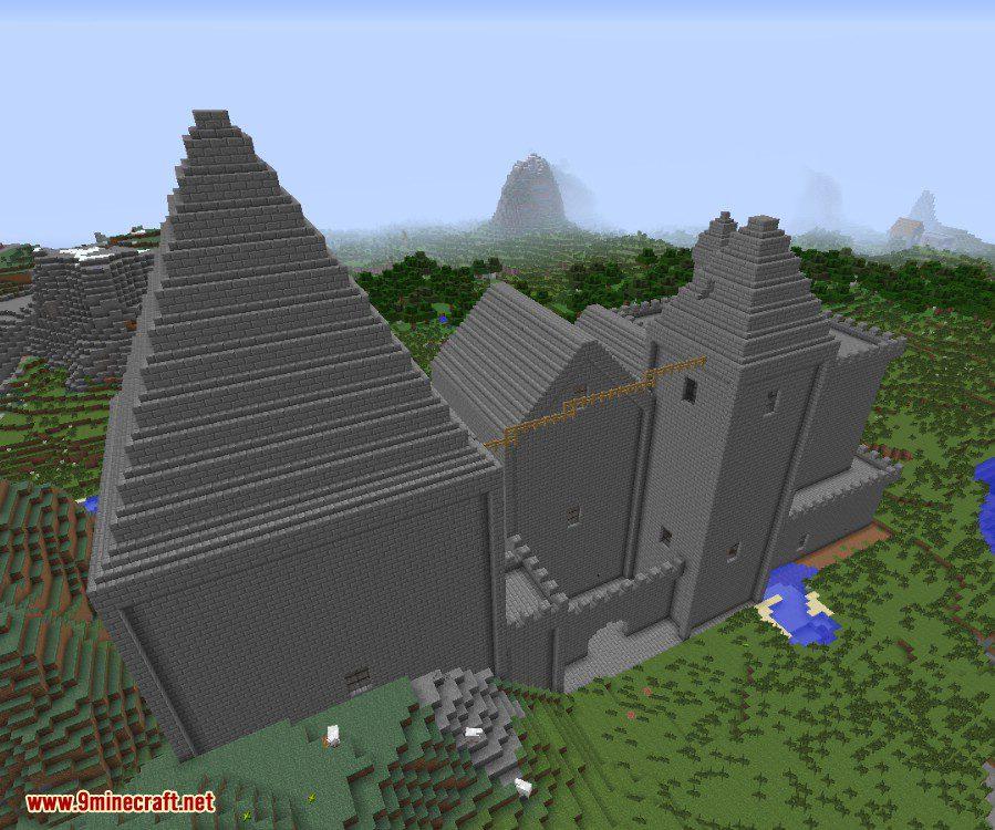 Kingdoms of The Overworld Mod 1