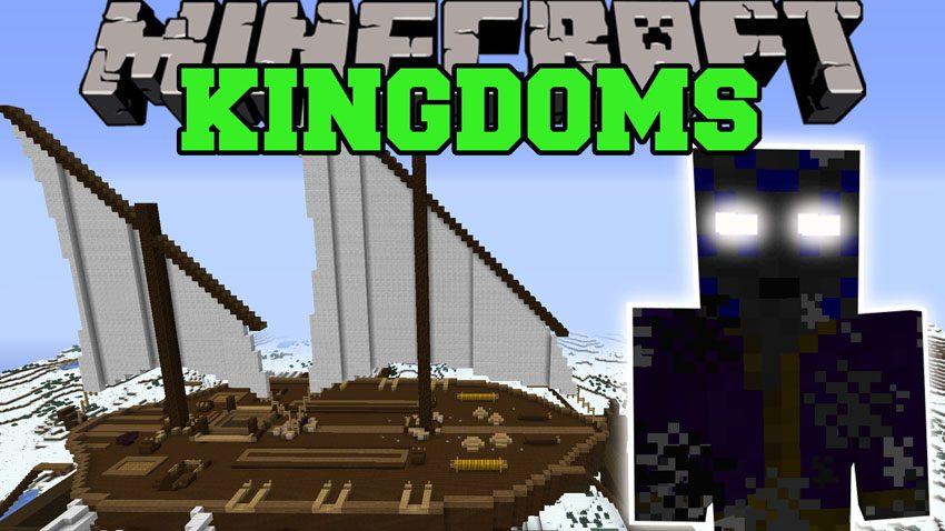 Kingdoms of The Overworld Mod