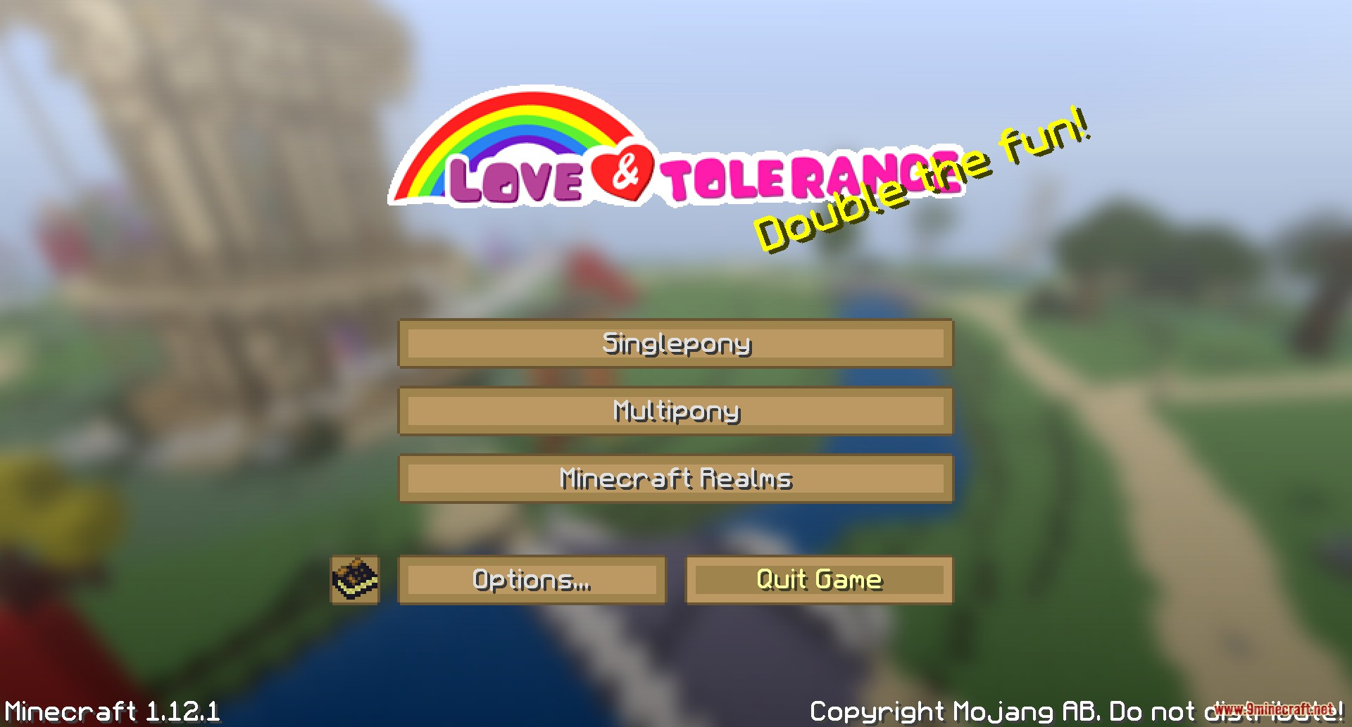 Love and Tolerance Resource Pack Screenshots 1
