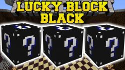 Lucky Block Black Mod