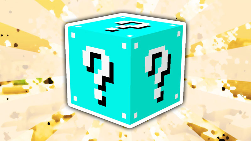 Lucky Block Blue Mod 1.7.10