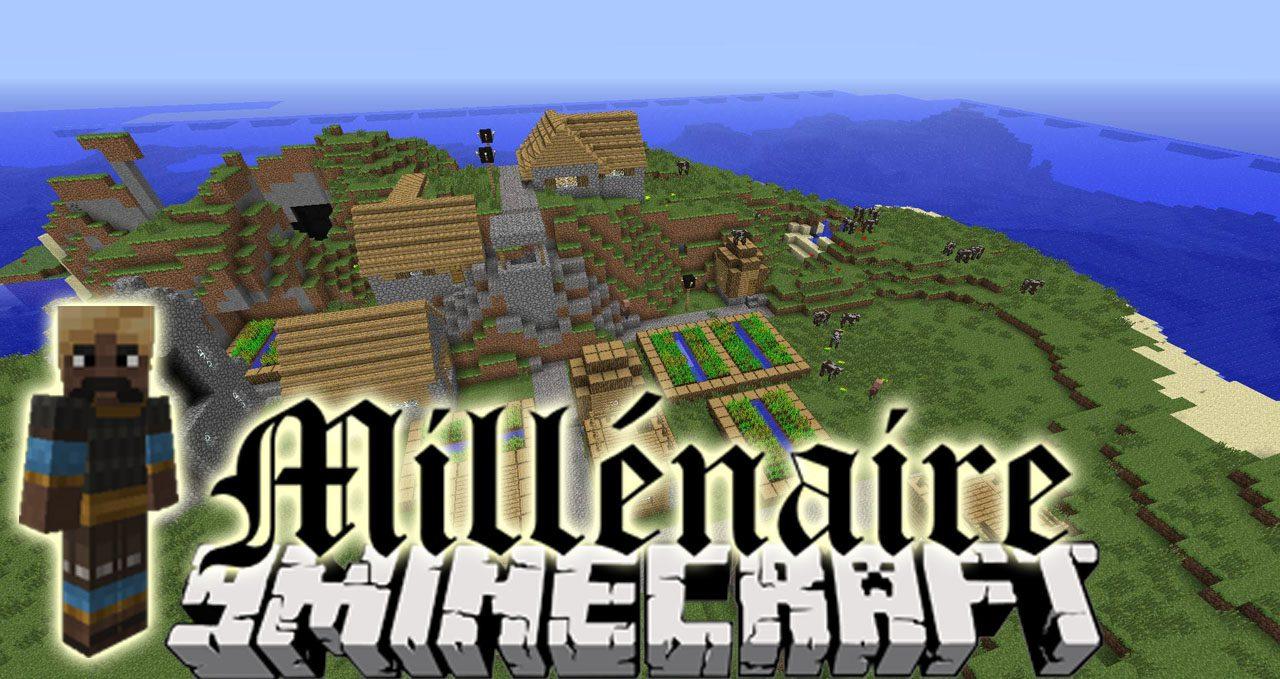 Millenaire Mod 8.88.8/8.8.80 (Randomly Generated NPC Villages