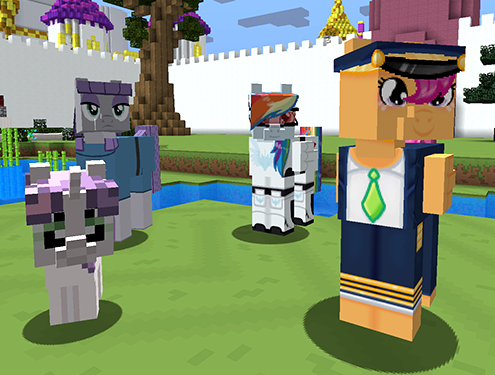 Mine Little Pony Friendship is Crafting Mod Screenshots 3