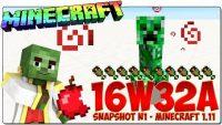 Minecraft 1.11 Snapshot 16w32a