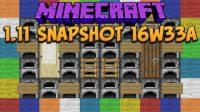Minecraft 1.11 Snapshot 16w33a
