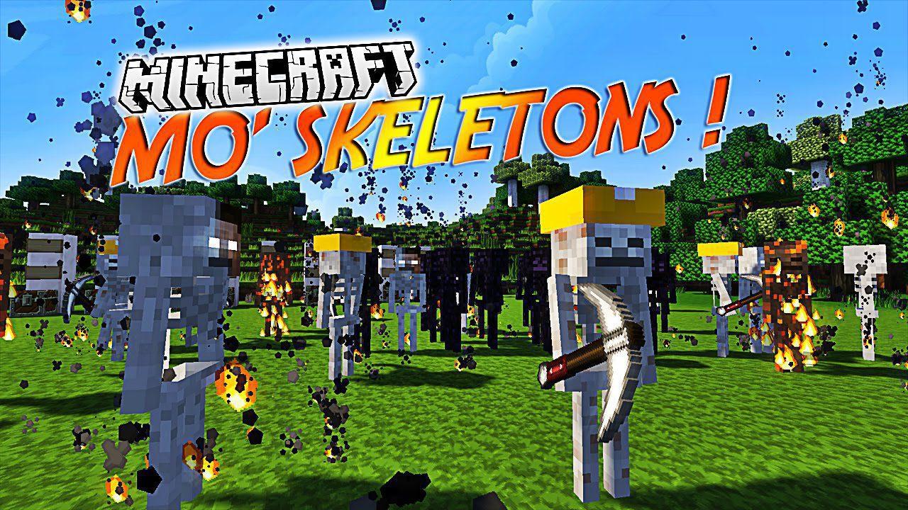 Mo' Skeletons Mod