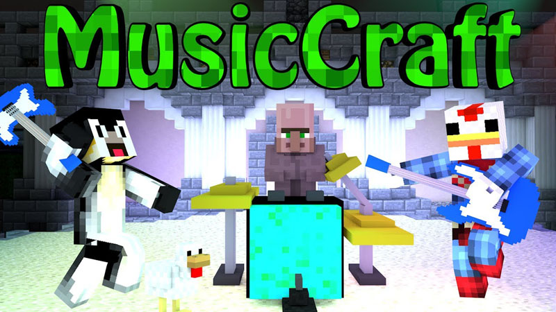 Musiccraft mod epic in game instruments for 9minecraft decoration mod