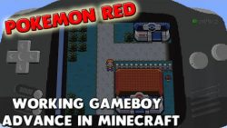 Pokemon Red Gameboy Advance Map